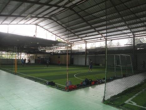 Tempat futsal di Taman Parhyangan Bogor